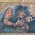 Gilgamesh Mourning Enkidu